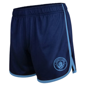 Manchester City Women's Track Shorts by Icon Sports