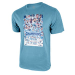 Manchester City Premier League Champions Poster Tee by Icon Sports