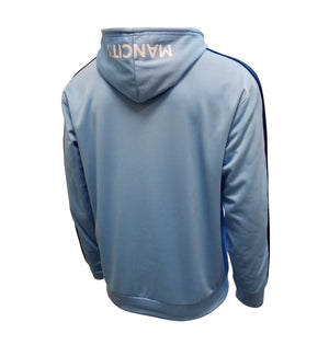 Man City Pullover Hoodie - Blue & Navy