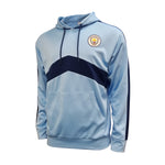 Man City Pullover Hoodie - Blue & Navy by Icon Sports