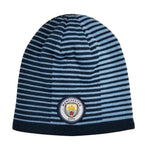 Manchester City F.C. Reversible Beanie - Blue & Navy