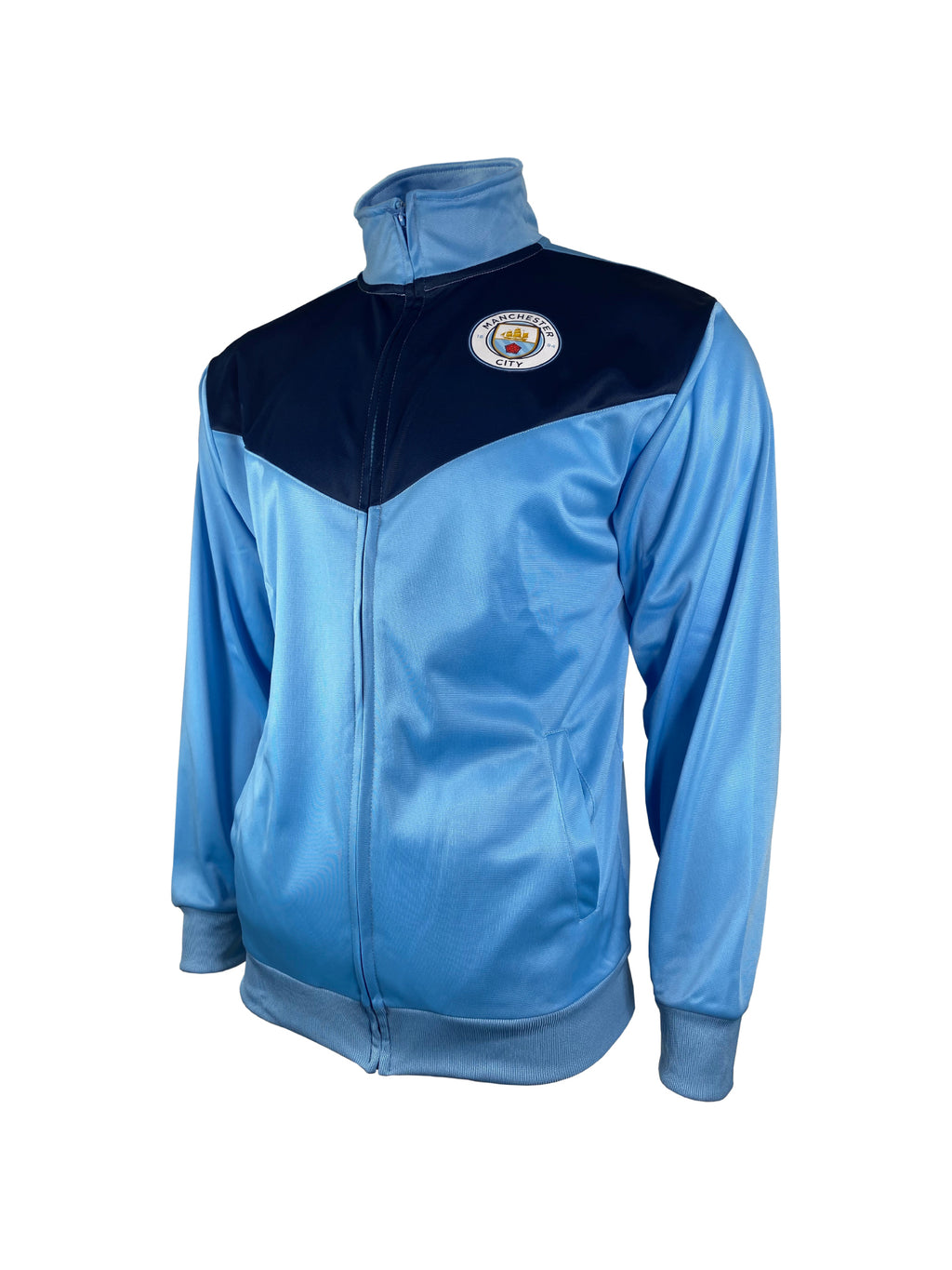 Manchester City Football Club Men's Full Zip Track Jacket