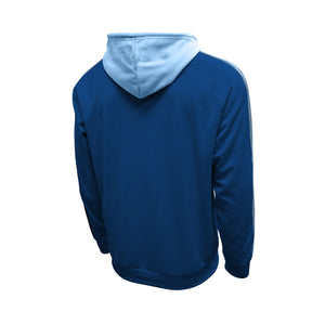 Manchester City Side Step Pullover Hoodie - Navy by Icon Sports