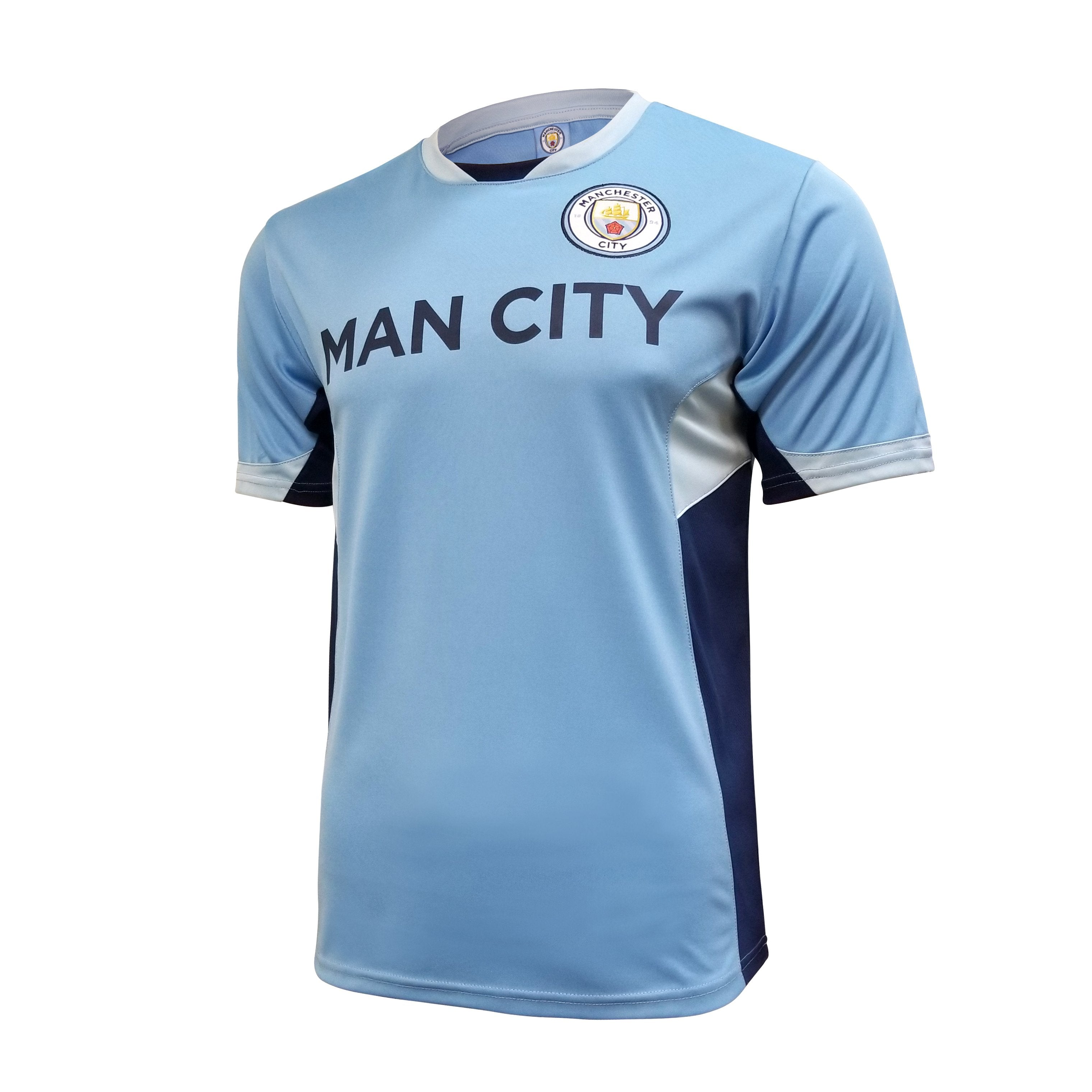 Manchester City F.C. Game Class Striker Shirt by Icon Sports