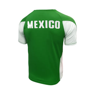 Mexico Striker Game Class Soccer Jersey by Icon Sports