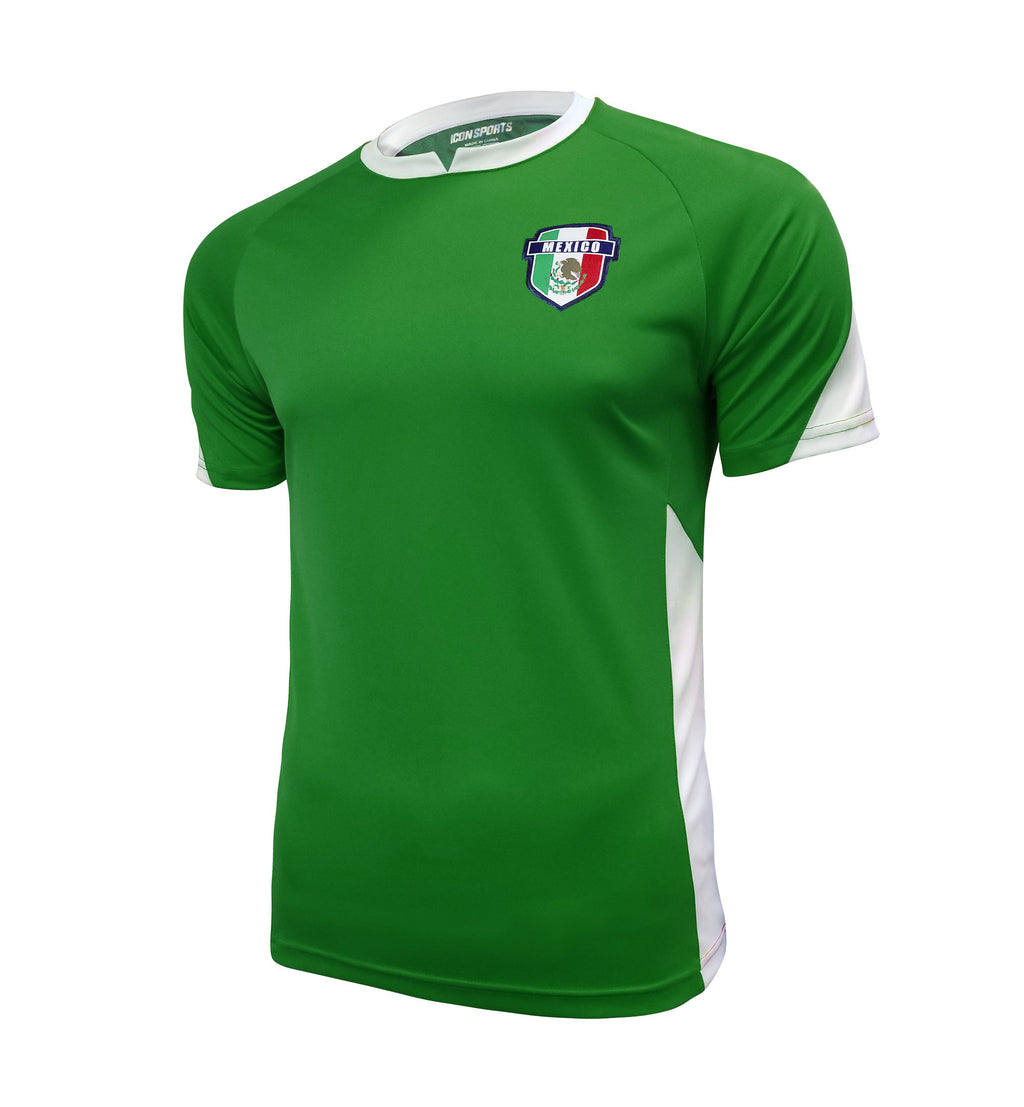 Mexico Striker Game Day Soccer Jersey by Icon Sports