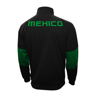 Mexico Touchline Adult Full-Zip Track Jacket by Icon Sports