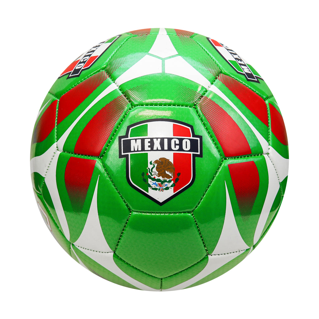 Mexico Inked Team Regulation Size 5 Soccer Ball by Icon Sports