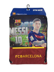 FC Barcelona Messi Drawstring Cinch Bag