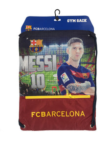 FC Barcelona Messi Drawstring Cinch Bag by Icon Sports