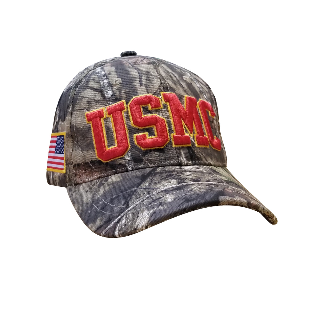 U.S. MARINE CORP USMC x MOSSY OAK BREAK-UP COUNTRY CAP