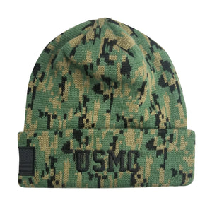 U.S. Marine Corps USMC Digital Camo Cuffed Beanie by Icon Sports