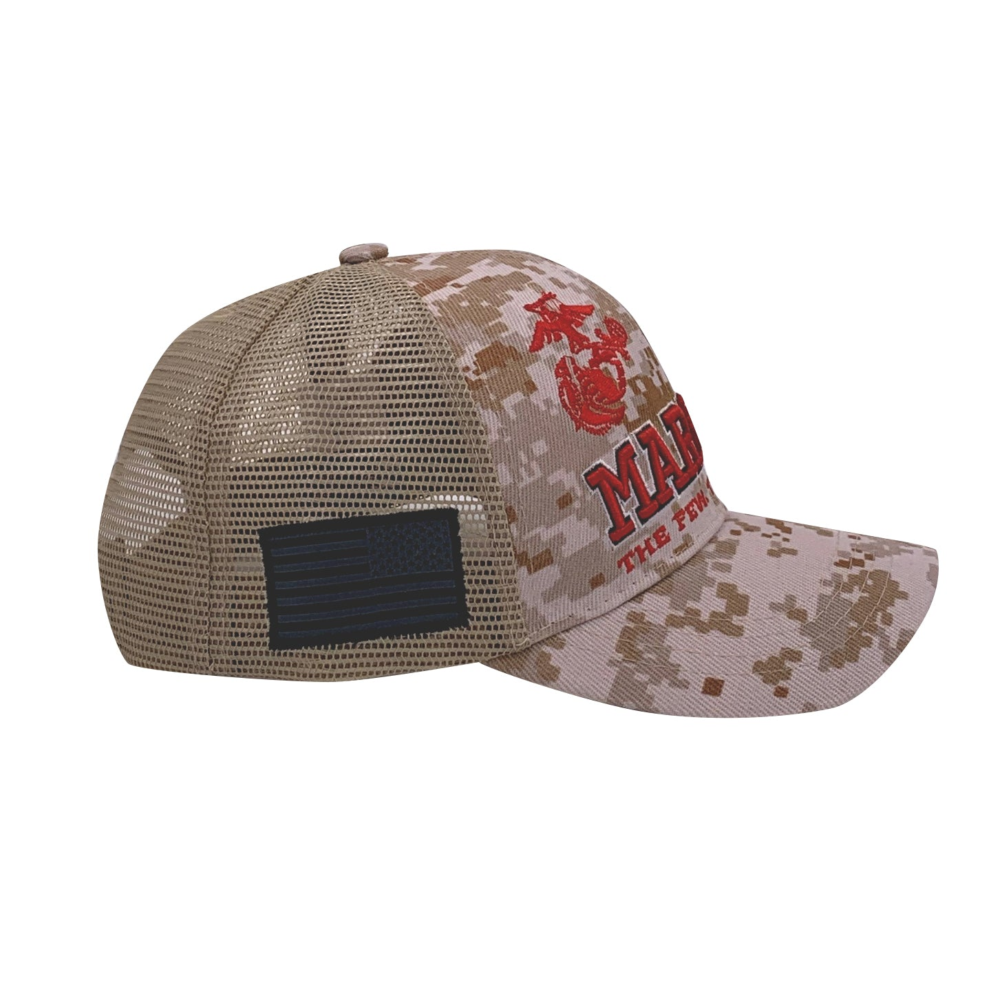 United States Marine Corps Battle Flag Trucker Cap by Icon Sports
