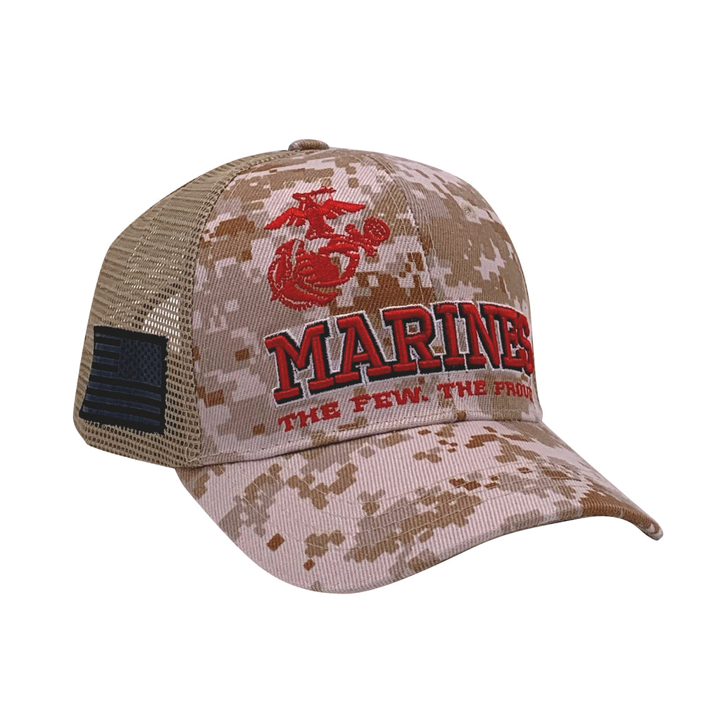 United States Marine Corps Battle Flag Trucker Cap