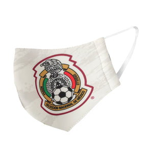 Mexico National Soccer Team White Face Covering by Icon Sports