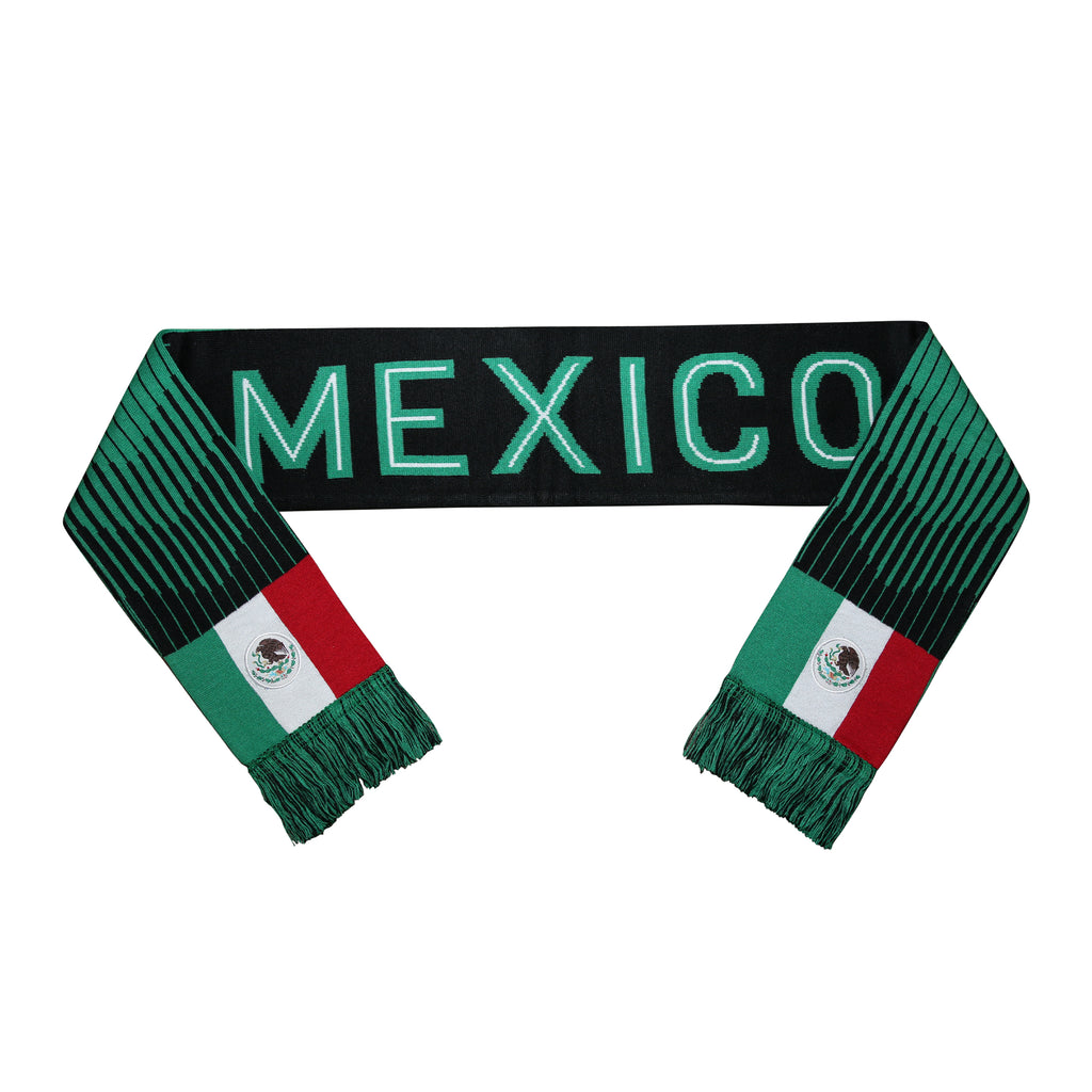 Mexico Reversible Fan Scarf