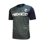 Mexico Soccer Stadium Class Poly Shirt - Black Green
