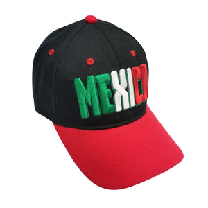 MEXICO 3D Embroidery 6 Panel Structured Cap by Icon Sports