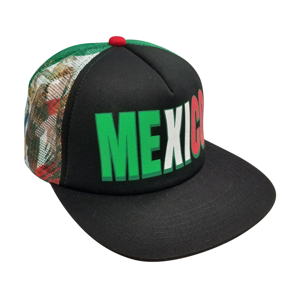 MEXICO 5-Panel Foam Front Trucker Cap
