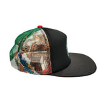 MEXICO Logo 5-Panel Foam Front Trucker Cap