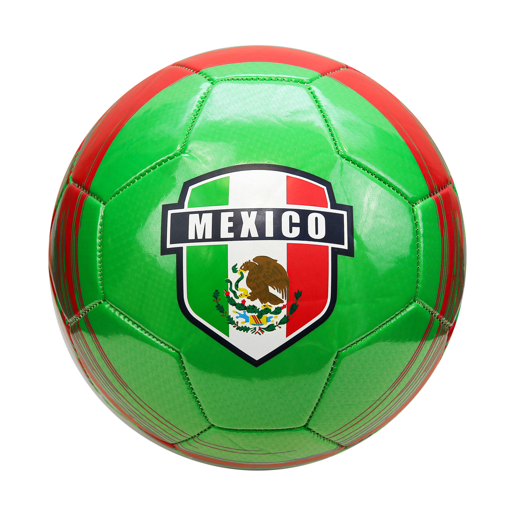 Mexico Storm Team Regulation Size 5 Soccer Ball by Icon Sports