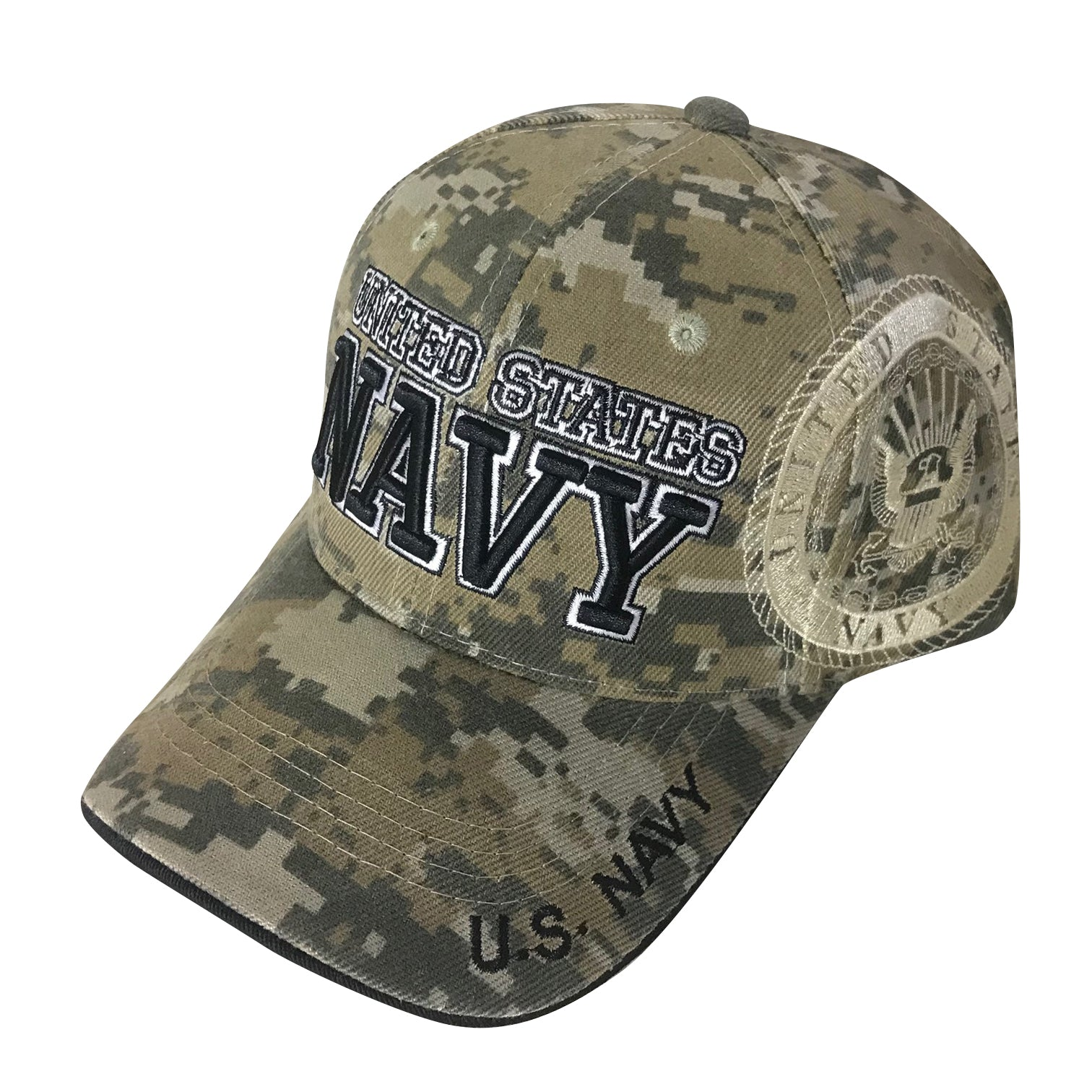 U.S. Navy Acrylic Cap - Digital Camo by Icon Sports