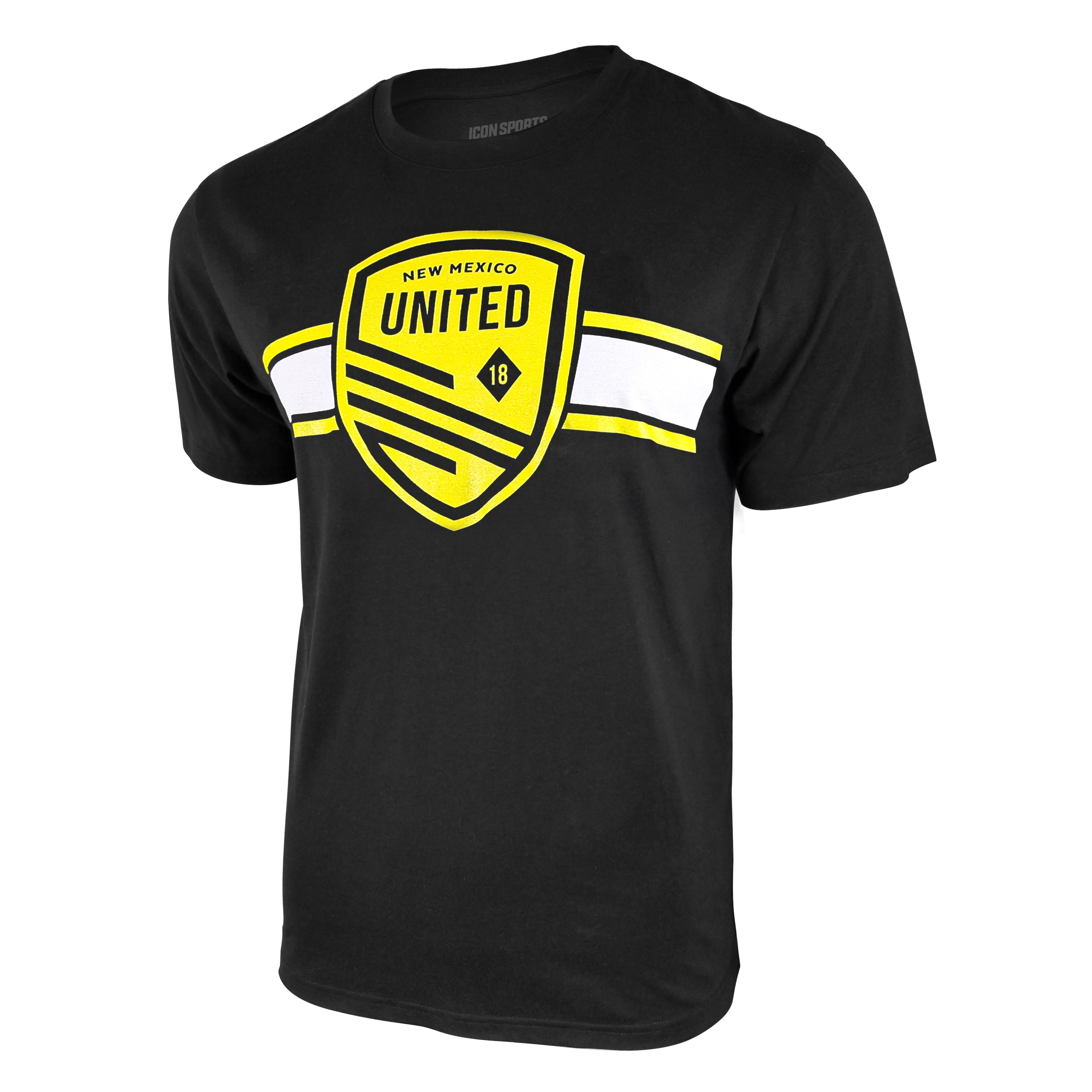 USL New Mexico United Logo Tee - Black by Icon Sports