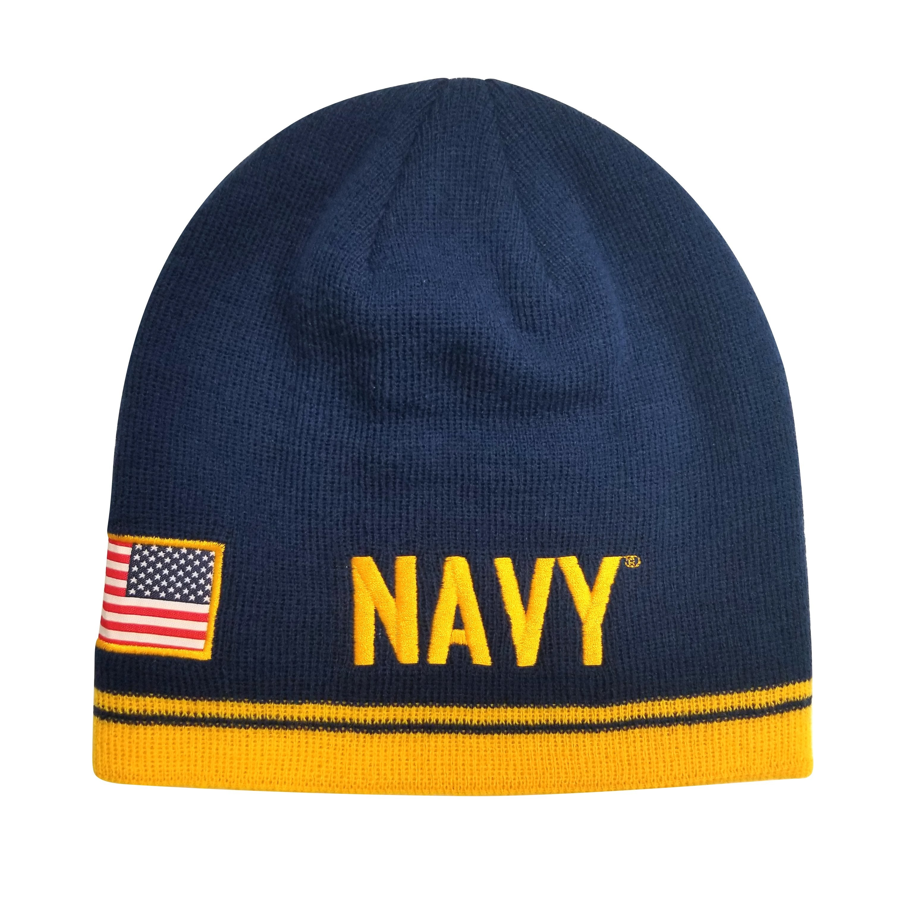 U.S. Navy Wordmark Beanie by Icon Sports