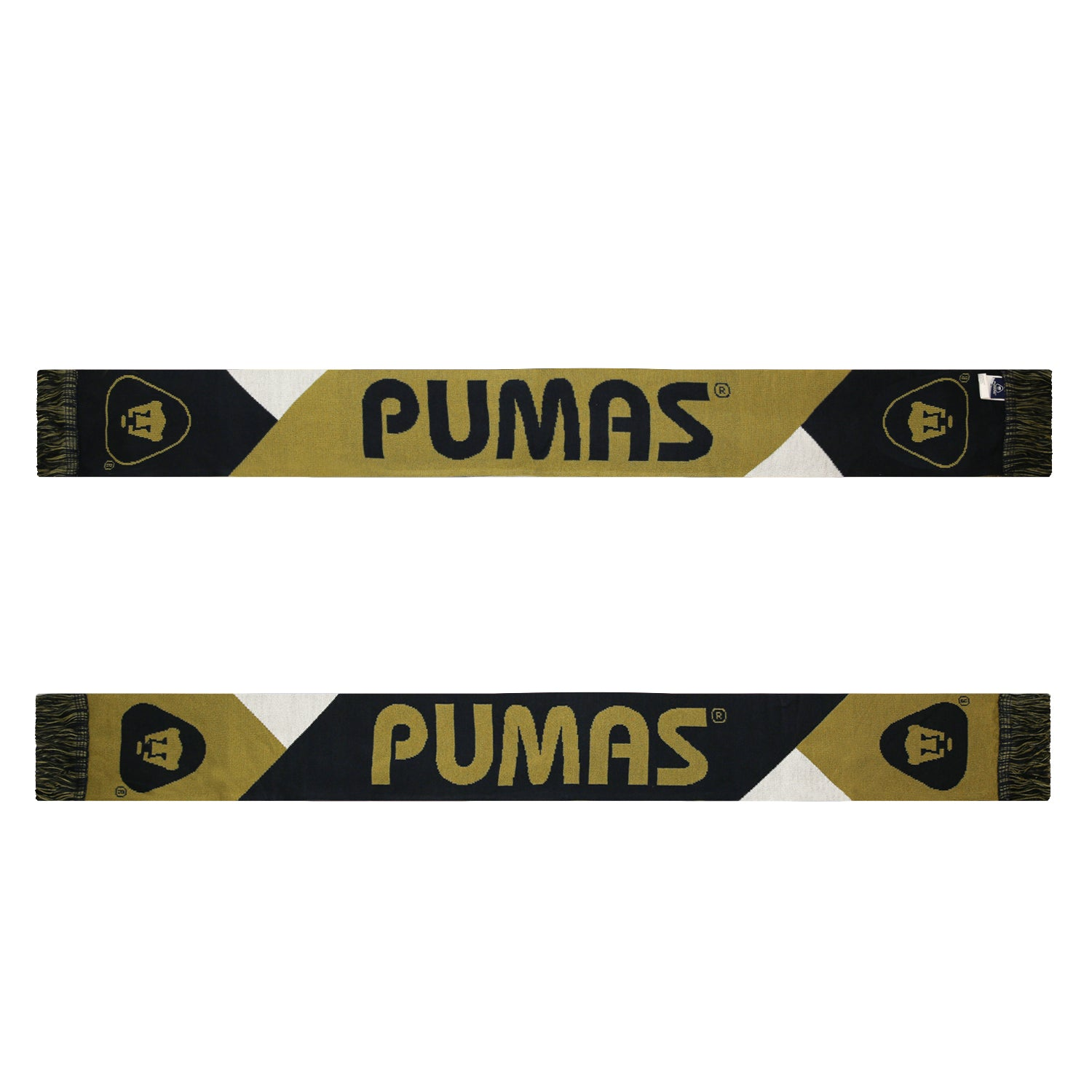 Pumas UNAM Facet Reversible Fan Scarf by Icon Sports