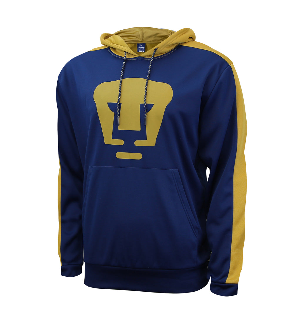Pumas UNAM Side Step Adult Men Pullover Hoodie by Icon Sports