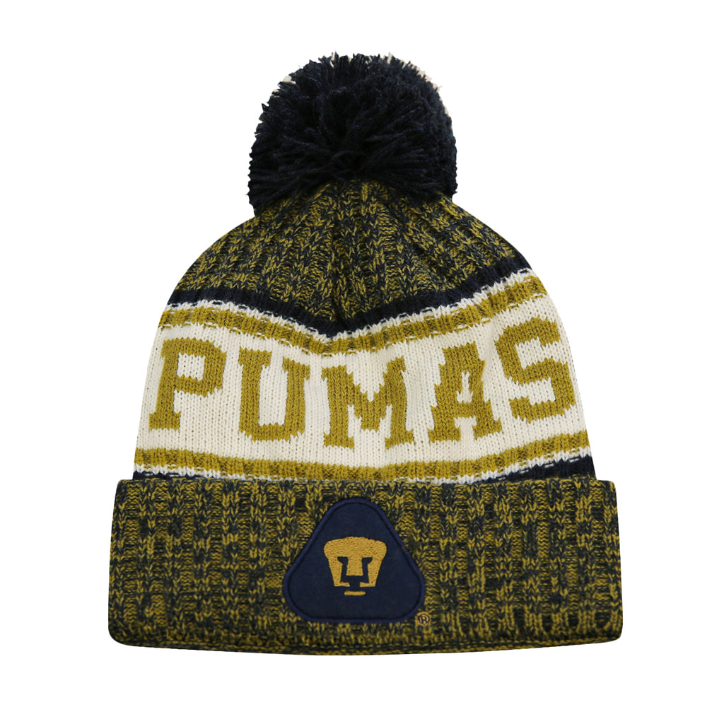 Pumas UNAM Youth Crowned Beanie by Icon Sports