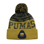 Pumas UNAM Pom Pom Beanie by Icon Sports