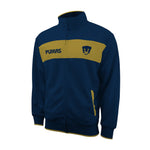 "Pumas UNAM ""Centering"" Adult Full-Zip Track Jacket - Navy by Icon Sports"