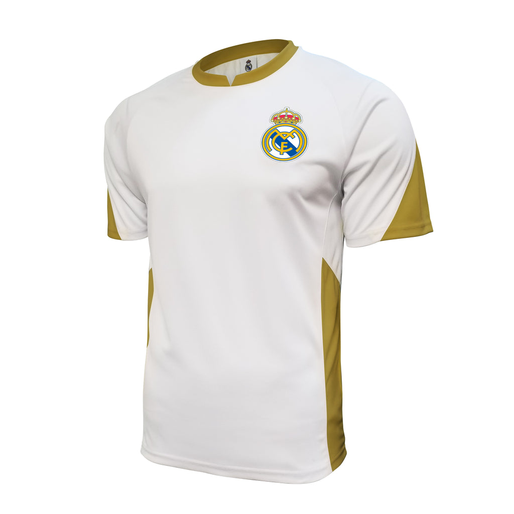 Real Madrid Game Day Striker Shirt - White by Icon Sports