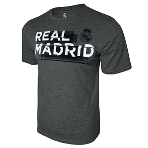 Real Madrid Shattered Graphic T-Shirt - Deep Heather