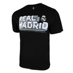 Real Madrid Shattered Graphic T-Shirt - Black