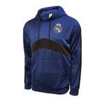 Real Madrid Pullover Hoodie - Navy & Black