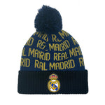 Real Madrid Cuff Pom Adult Beanie - Navy Cuff by Icon Sports