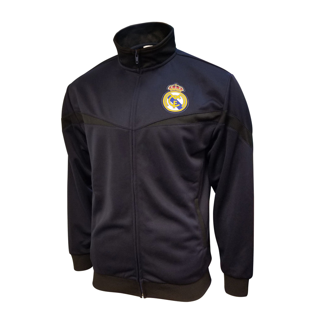 Real Madrid Full Zip Track Jacket - Navy