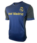Real Madrid Game Class Striker Shirt - Navy