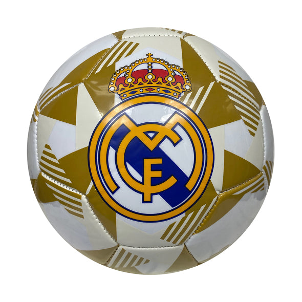 Real Madrid Prism Size 5 Soccer Ball - White by Icon Sports