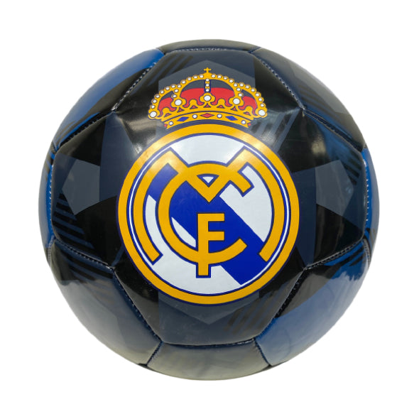 Real Madrid Prism Size 5 Soccer Ball - Black