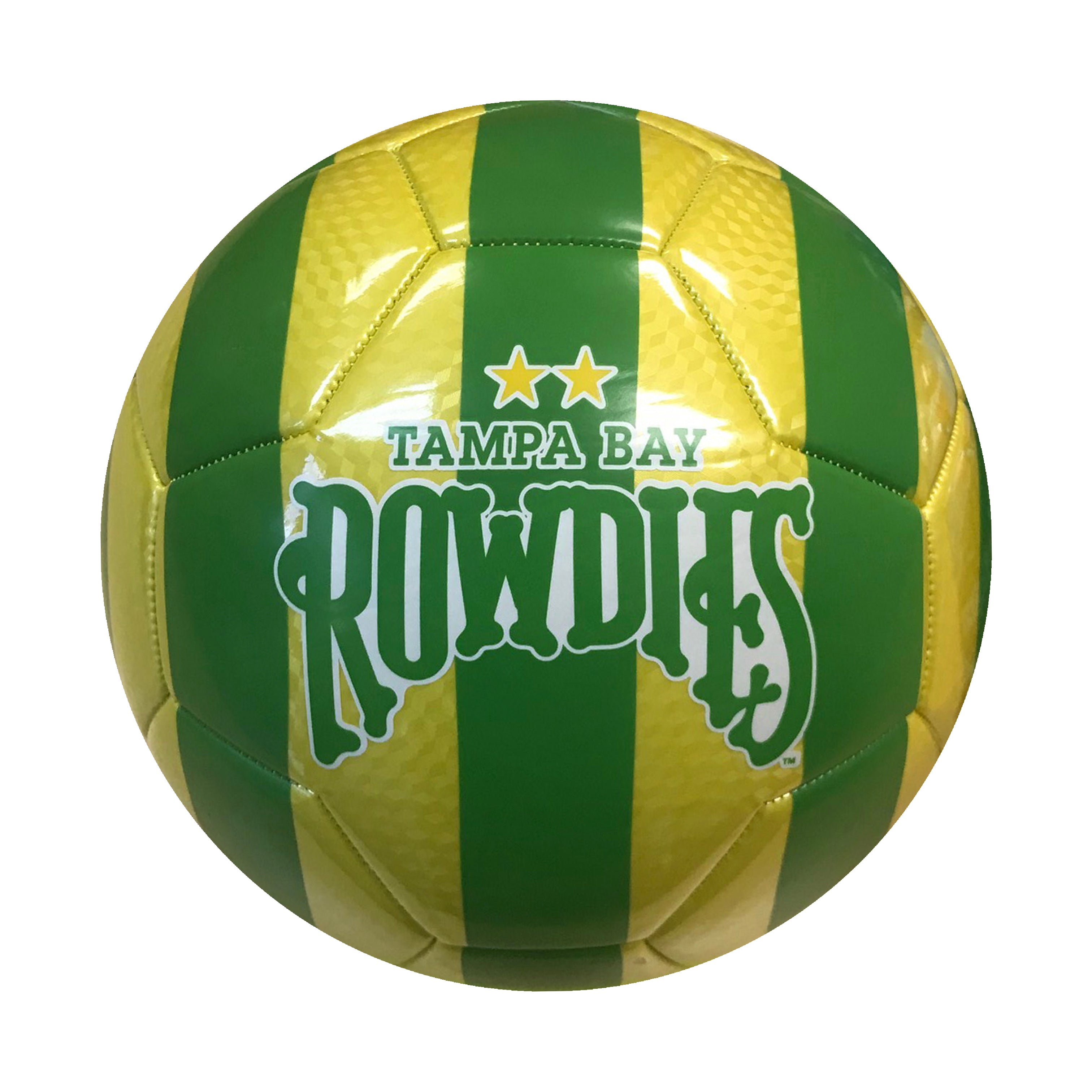 USL Tampa Bay Rowdies Size 5 Soccer Ball by Icon Sports