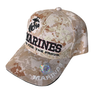 U.S. Marine Corps Acrylic Cap - Digital Camo by Icon Sports