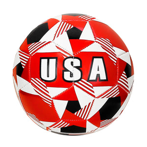 United States Country Prism Flag Size 5 Regulation Soccer Ball by Icon Sports