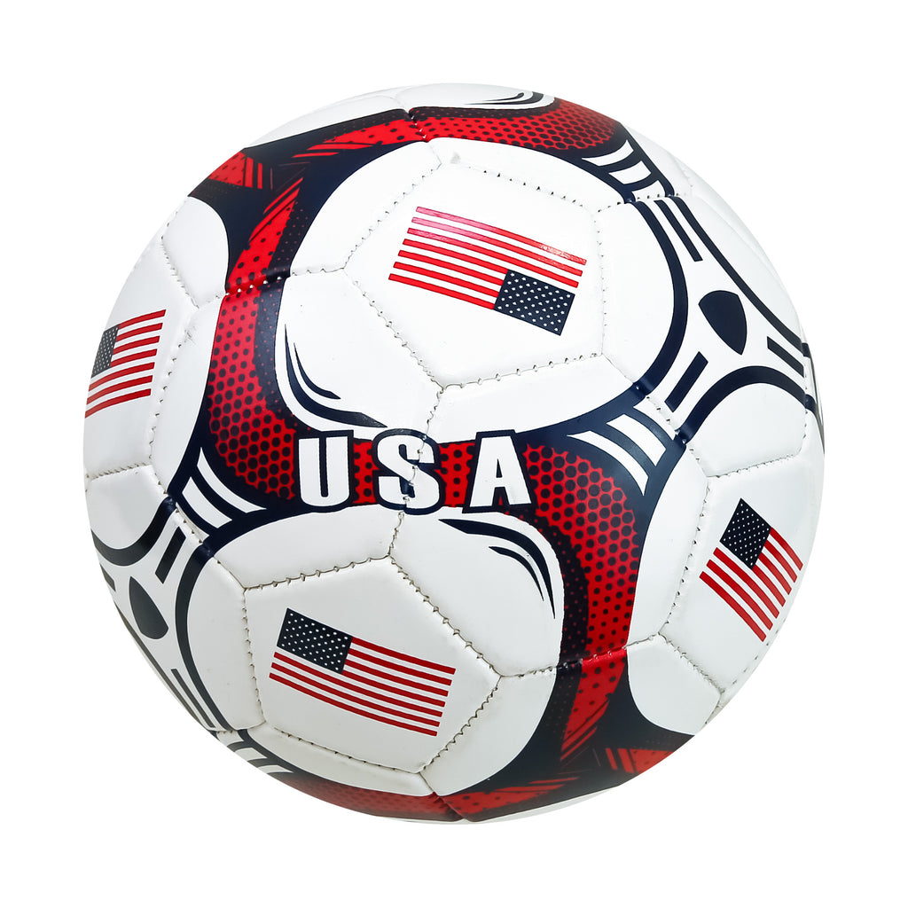 United States Country Flag Size 2 Regulation Soccer Ball by Icon Sports