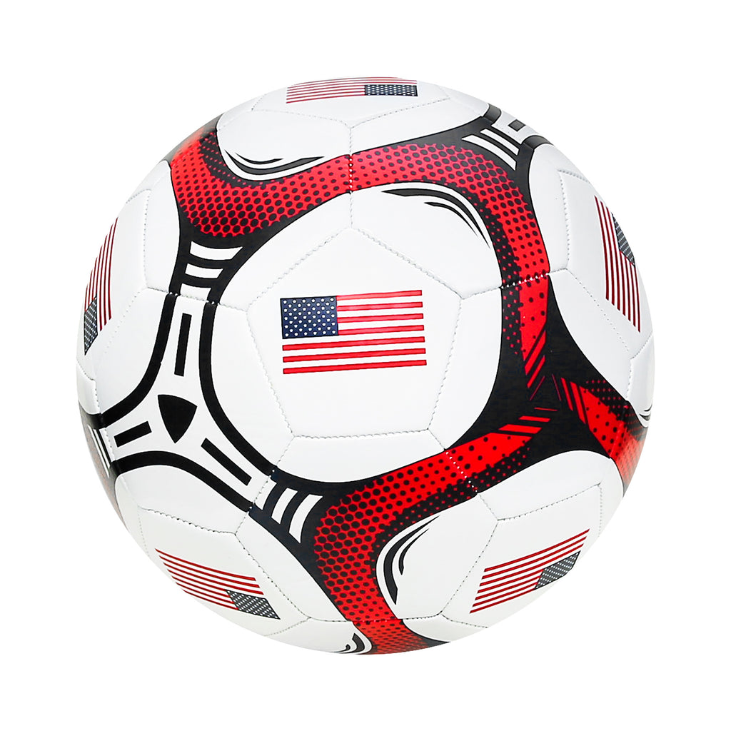 United States Country Flag Size 5 Regulation Soccer Ball by Icon Sports