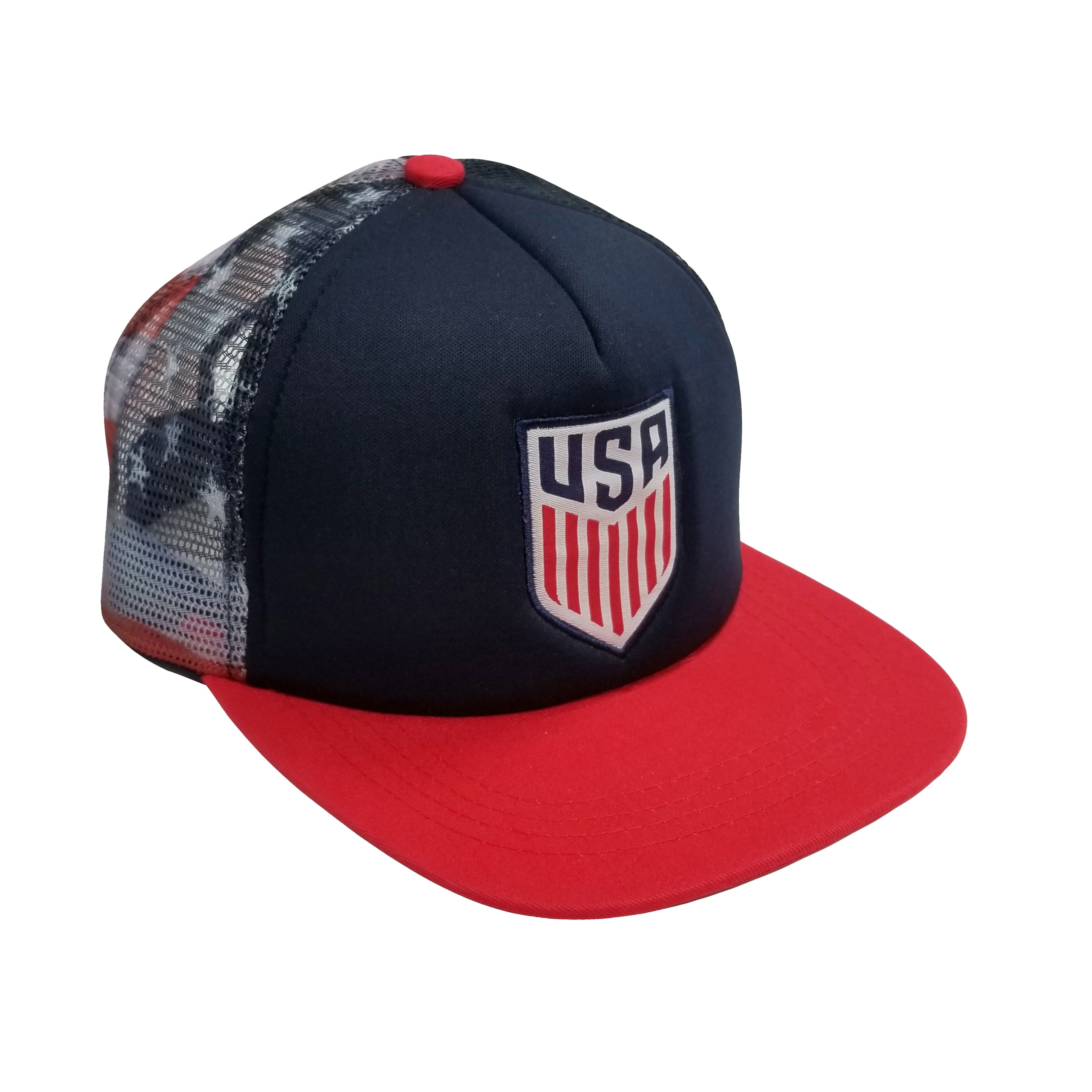 U.S. Soccer Adjustable Trucker Cap by Icon Sports