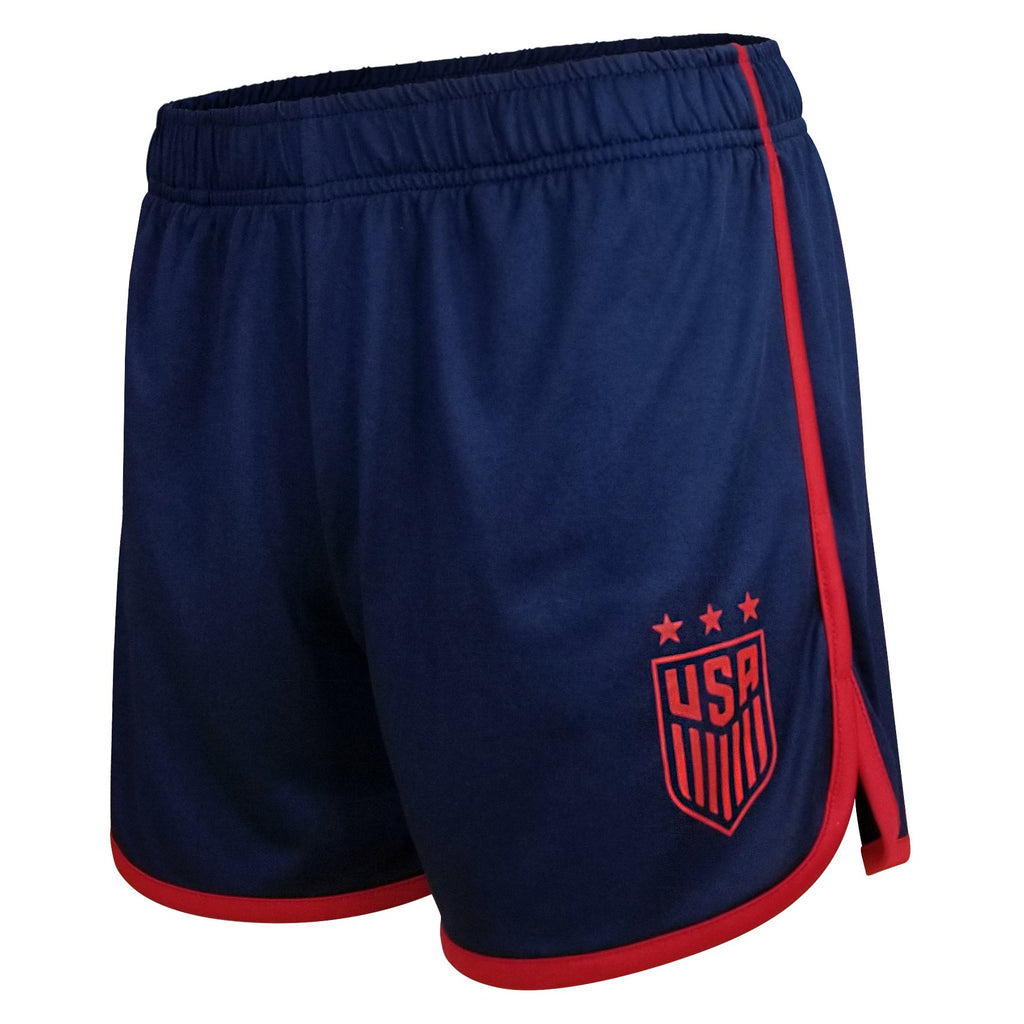 Icon Sports U.S Soccer USWNT Womens Football Polymesh Tee