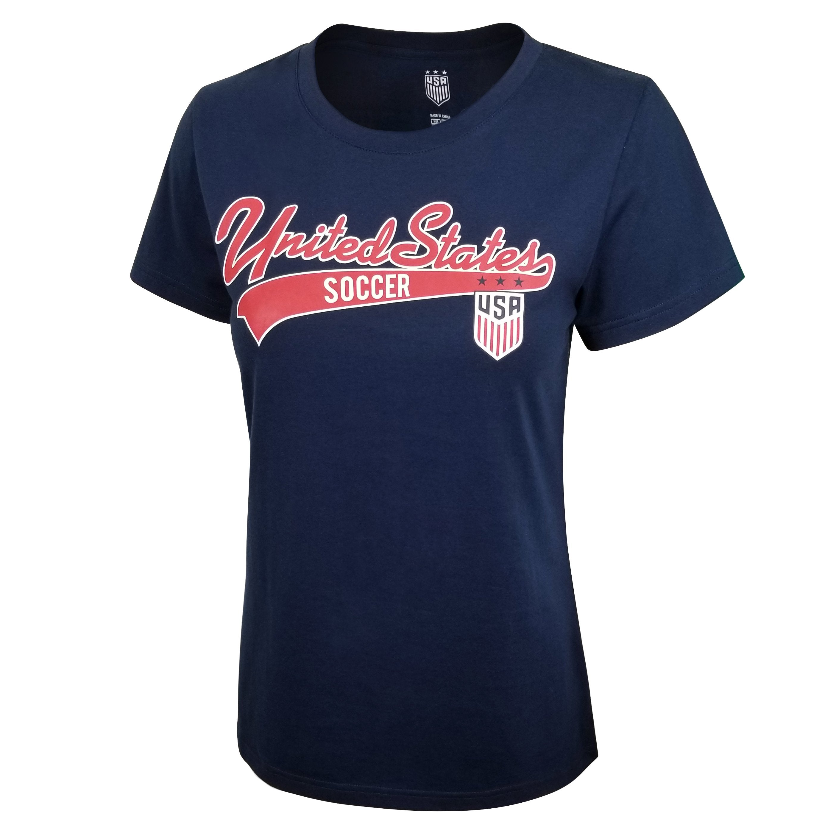 U.S. Soccer USWNT Ladies Bi-Blend Graphic Tee